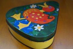 画像3: ドイツ70's◆可愛い鳥のイラストのティン缶