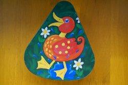 画像2: ドイツ70's◆可愛い鳥のイラストのティン缶