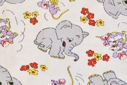 画像3: 楽しげなネズミと灰色のゾウ
