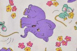 画像2: 楽しげなネズミと紫色のゾウ
