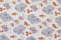 画像1: 楽しげなネズミと灰色のゾウ