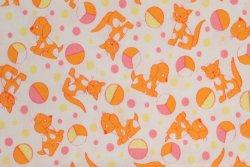 画像1: 犬・猫・ボール(オレンジ系)