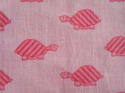 画像1: ピンクの亀さん(訳ありはぎれ)