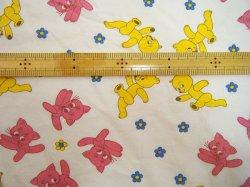 画像2: BUMMI 黄色のクマとピンクの猫(再入荷)