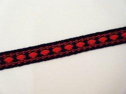 画像2: カッチリした印象の、紺×赤のチロルテープ