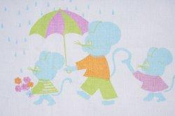 画像3: 天気雨の日の、お散歩ネズミ(水色)再入荷