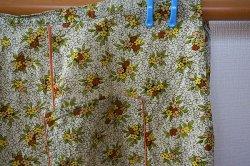 画像3: ドイツ70's●しっとり大人のお花柄エプロン