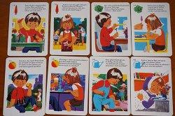 画像2: 1973年◆可愛いイラストの歯磨きカード25枚セット