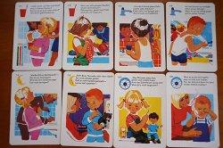 画像3: 1973年◆可愛いイラストの歯磨きカード25枚セット