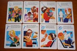 画像4: 1973年◆可愛いイラストの歯磨きカード25枚セット