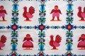 ドイツ70's★鳥や人のモチーフが可愛いカーテン