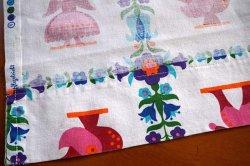 画像3: ドイツ70's★鳥や人のモチーフが可愛いカーテン