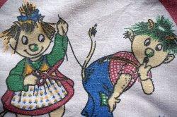 画像1: 子供ハンカチ◆危険な裁縫・・・