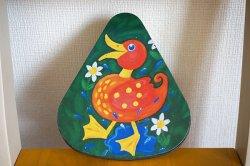 画像1: ドイツ70's◆可愛い鳥のイラストのティン缶