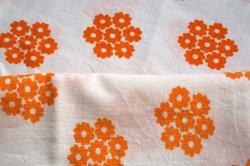 画像3: 70's◆オレンジの花が合体!(ピローケース)