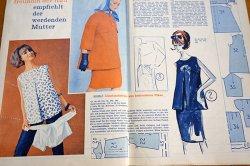 画像2: ドイツの古い洋裁型紙とステッチ図案のセット