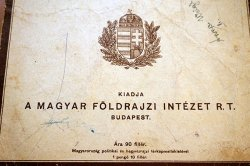 画像2: ブダペスト土産の古い世界地図ブックレット