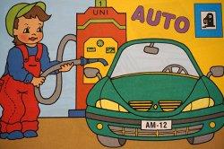 画像1: 【未使用品】チェコ◆可愛い塗り絵(色んな車)