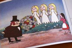 画像2: 【未使用品】チェコアニメの可愛い塗り絵