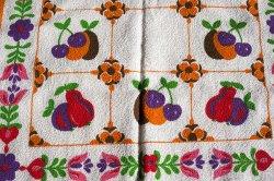 画像3: 【未使用品】お花とフルーツづくしのキッチンタオル
