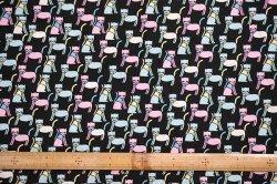 画像2: USAデザイナーズ・ファブリック【おしゃれ猫】