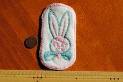 画像2: USAヴィンテージ★ウサギのワッペン