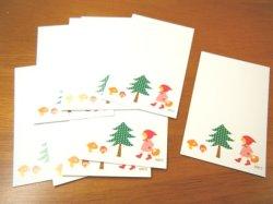 画像3: メッセージカード「赤ずきん」10枚セット